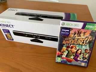 Kinect sensor + Kinect Adventures