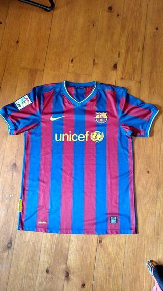 Camiseta Barça F.C. Barcelona 2009-2010