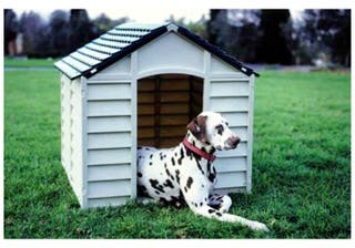 Outdoors dog Kennel - water resistant