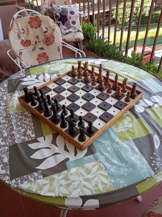 ajedrez para invidentes
