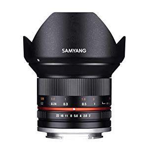 Objetivo Samyang 12mm F2.0 para Fuji sistema X