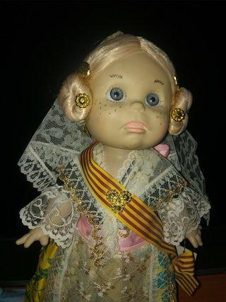 muñeca artesanal onil 31 cm