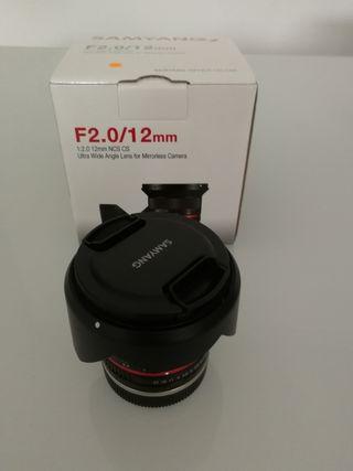 Sony a6000+Sigma 30mm 1.4+Samyang 12mm 2.0