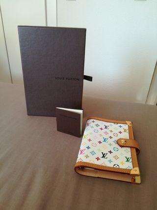 Agenda + bolígrafo oro Louis Vuitton