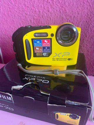 CÁMARA DE FOTO PARA EL AGUA FUJIFILM XP70