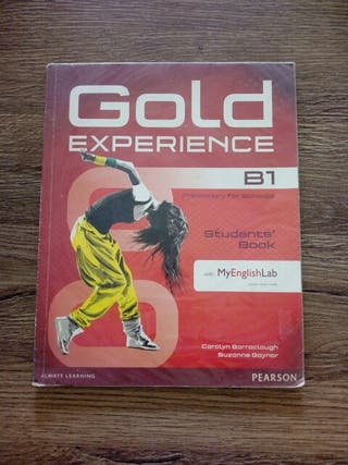 gold experience B1 ingles student book