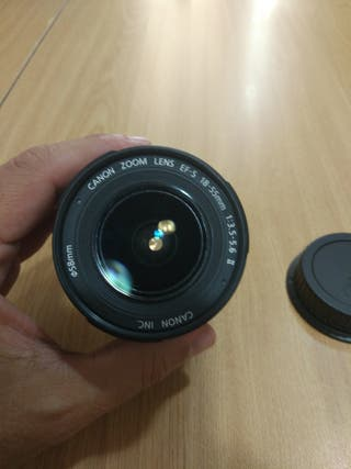 Objetivo Canon 18-55 EFS 3.5-5.6