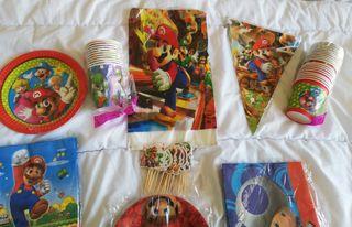 Pack SUPER MARIO celebraciones infantiles