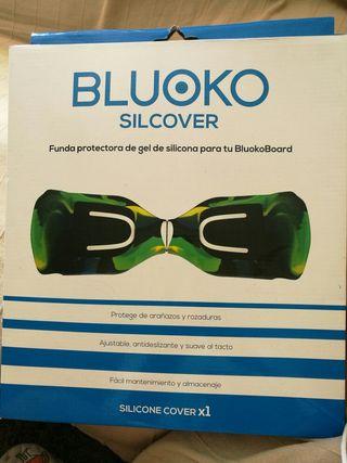 Funda silicona Bluoko para Hover Board