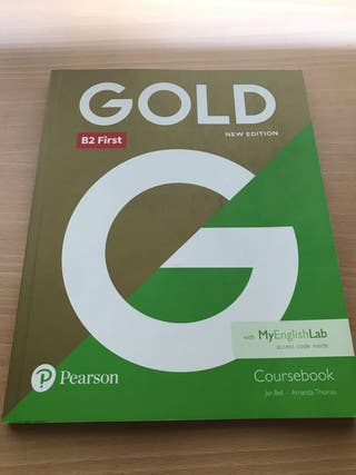 B2 First Gold New Edition coursebook