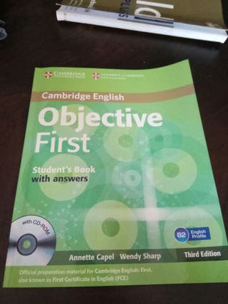 objective first (b2)
