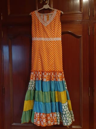 Bata de flamenca de diseño