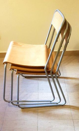 3 sillas de comedor de Ikea