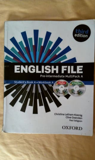 "Libro texto Inglés ""English File"" B1"