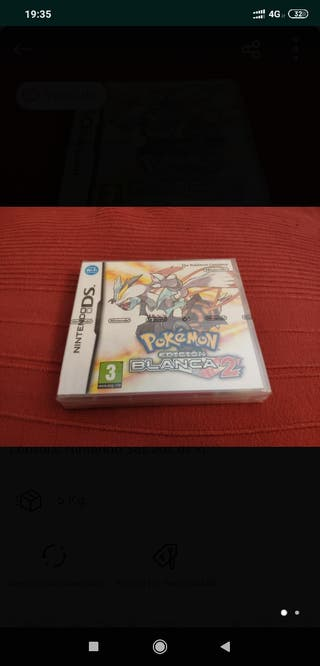 PRECINTADO Pokemon Edicion Blanca 2