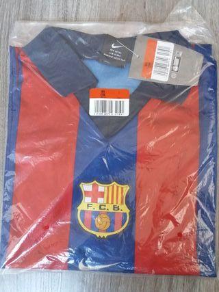 FC Barcelona camiseta nueva oficial sin logo LFP