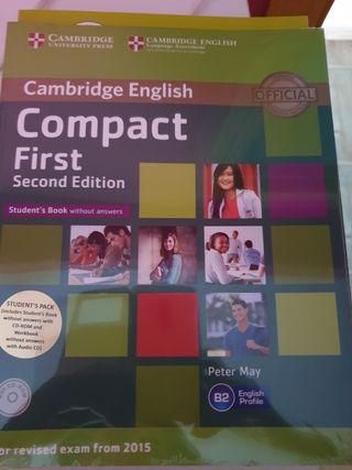 libro de inglés Compact First