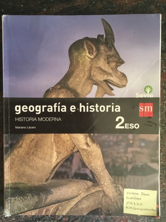 Libro geografía e historia 2º Eso