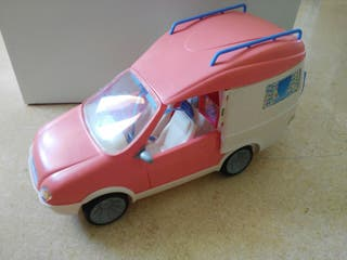 Autocaravana Barbie con Lancha