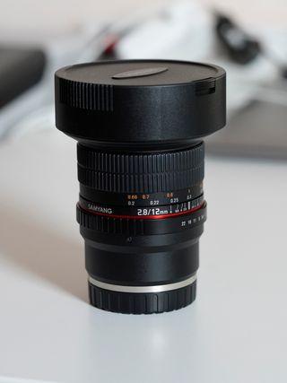 Samyang 12mm F2.8 Ojo de pez Sony E - SEMINUEVO