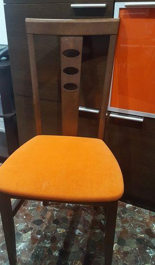 6 sillas comedor.