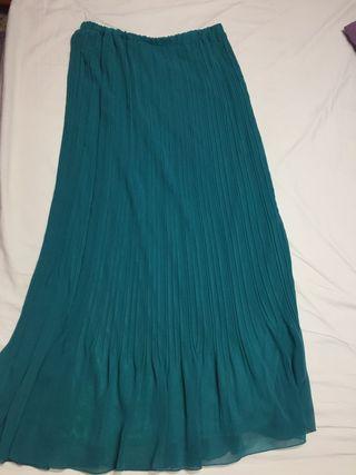 Falda larga talla XL,Cortefiel