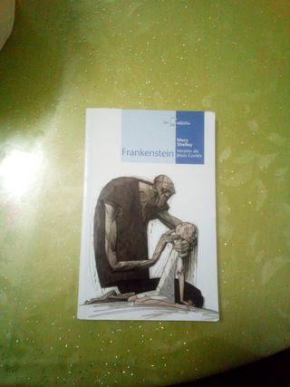 "Libro""Frankenstein"" de Marry Shelley"
