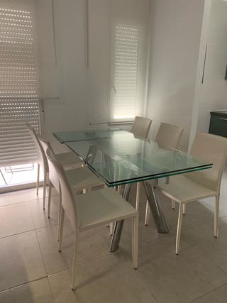 Mesa de Comedor con Sillas El Corte Inglés de segunda mano ...