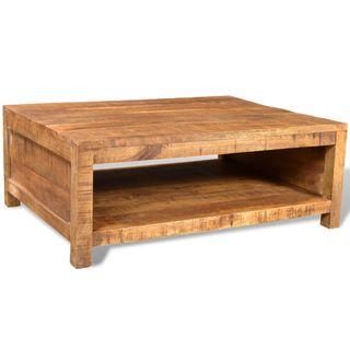 vidaXL Mesa de centro de madera de mango 241131