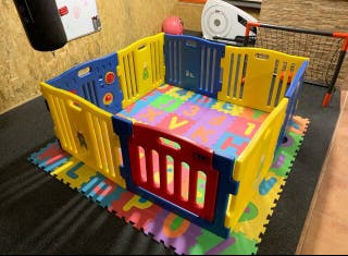 Parque de bebés gemelar xxl Star Ibaby Play Twin