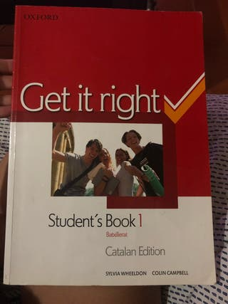 Libro ingles: Get it right
