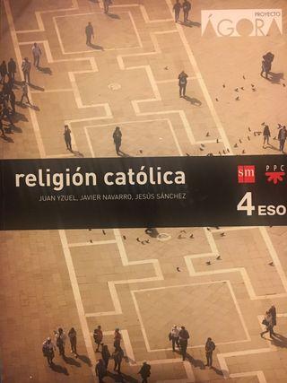 Libro Religión 4º de ESO