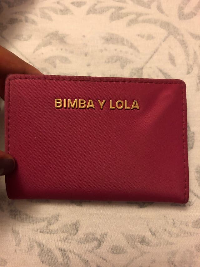 Tarjetero Bimba y Lola