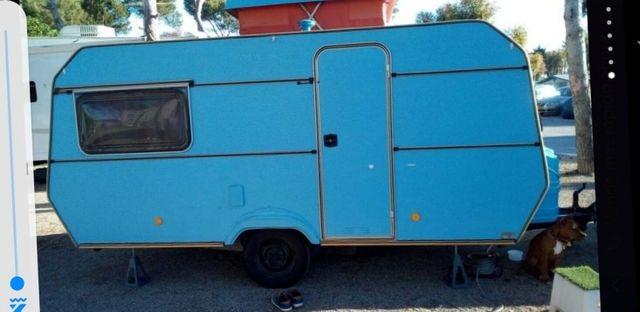 caravana mini holandesa, menos de 750kg