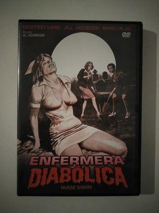 dvd terror Enfermera Diabolica