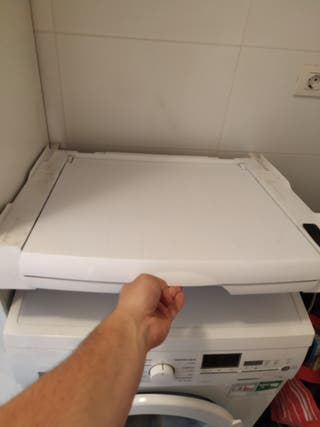 soporte unir lavadora y secadora
