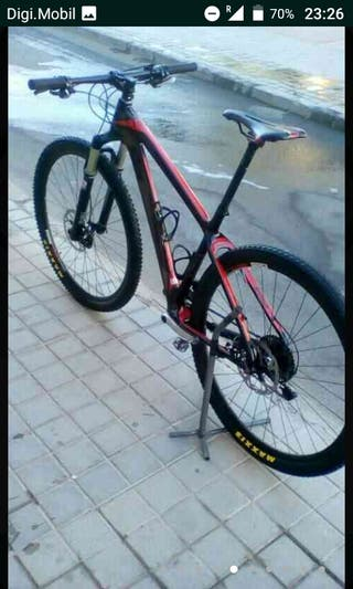 bicicleta de montaña ktm carbono