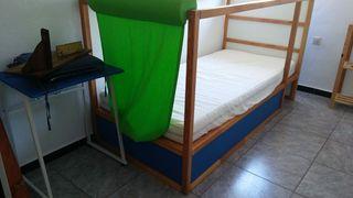 Cama para niño de ikea ( kura docel)