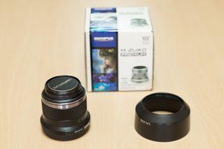 Objetivo Olympus 45mm f1.8