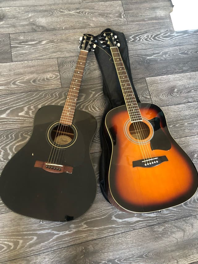 Ibanez & Gibson Acoustic Guitars + Case