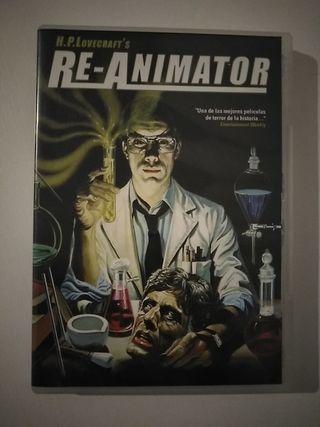 dvd terror Re-Animator
