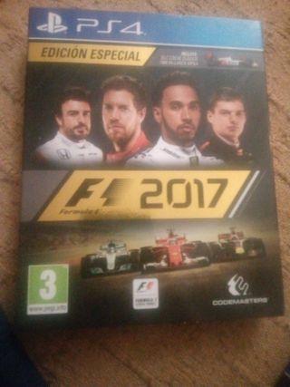 juego ps4 f1 2017 edicion especial