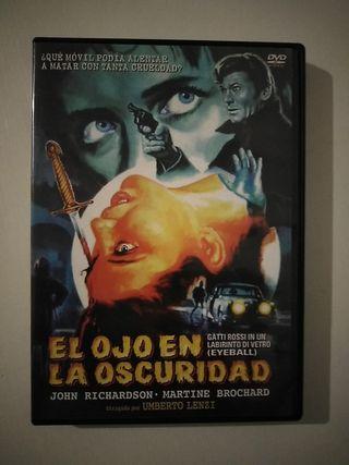 dvd terror El Ojo en la Oscuridad