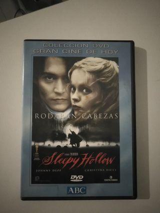 dvd terror Sleepy Hollow