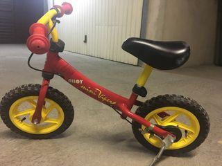 Bicicleta d'alumini sense pedals