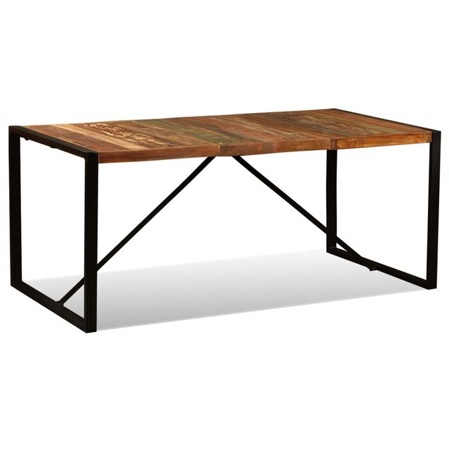 vidaXL Mesa de comedor de madera 243999