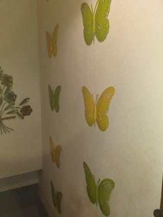15 mariposas colgar pared