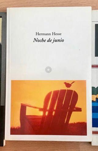 Vendo libro Noche de Junio de H Hesse