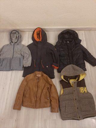 Chaqueta abrigo 110-120cm.4-5años