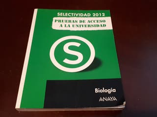 Pruebas de acceso a la Universidad - Biología